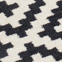 Tapis à motifs noir et blanc 160x230cm-GEOMETRIX