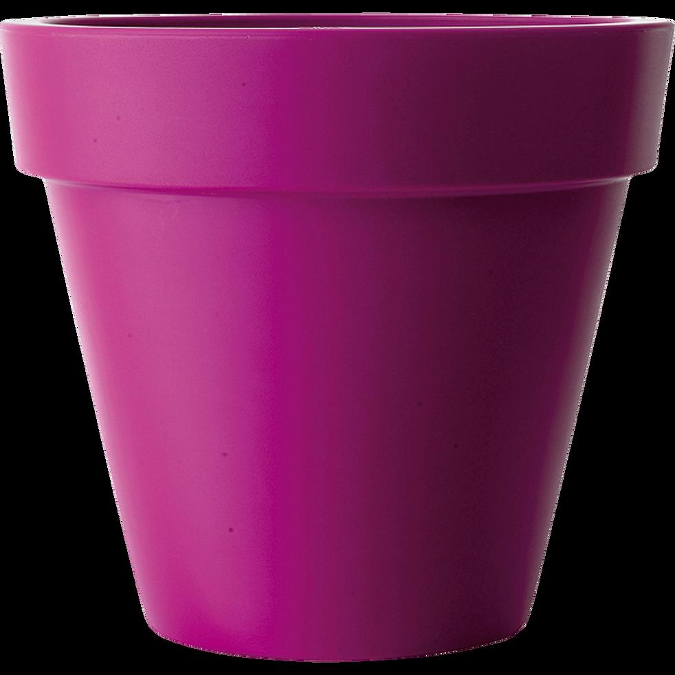 Cache-pot Elho rose en plastique H89xD100cm-PURE