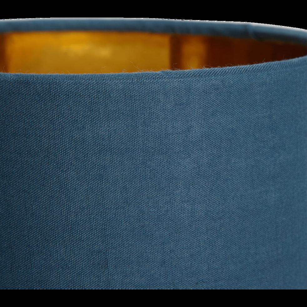 Lampe à poser bleu figuerolles H27cm-FIRST