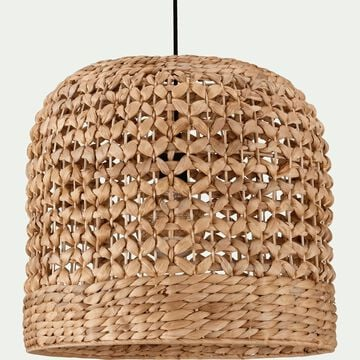 Suspension naturelle en jacinthe d'eau D45xH50cm-VARAGE