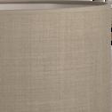 Suspension cylindrique en tissu vert D60cm-MISTRAL