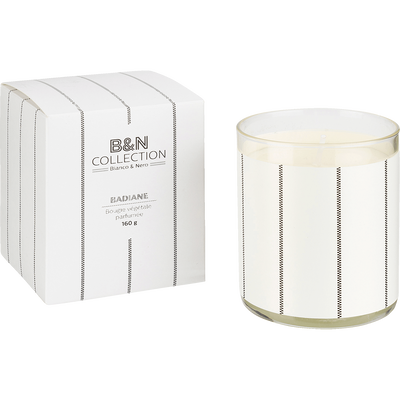 Bougie parfumée bois de cade 160g-BADIANE