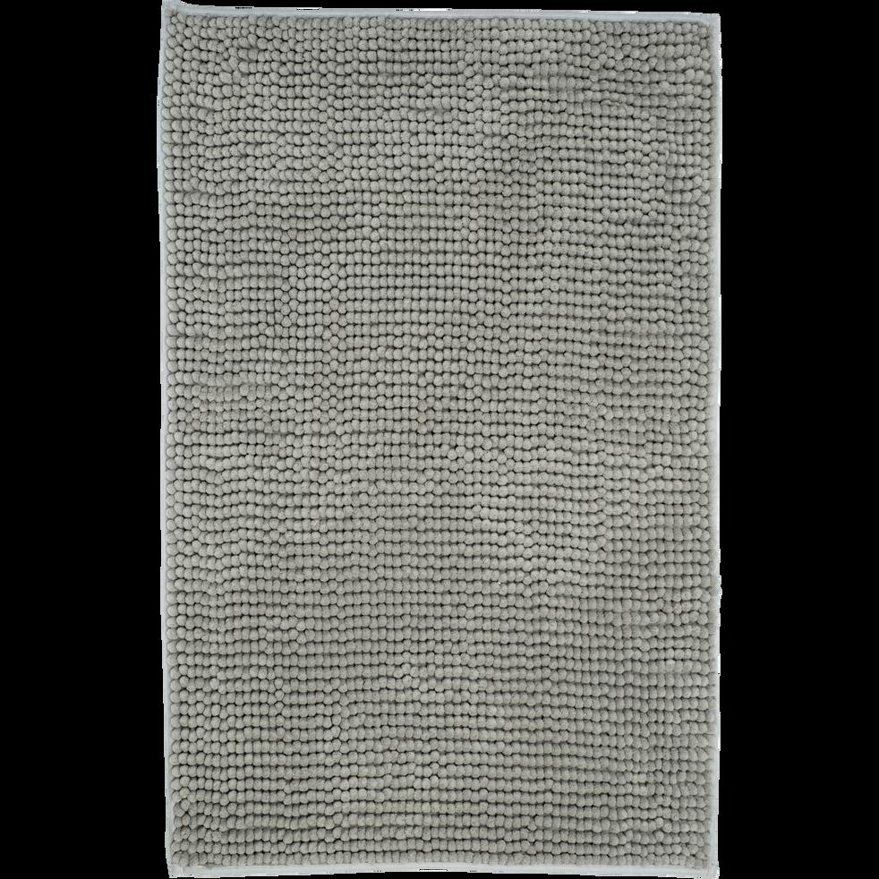 Tapis de bain polyester 50x80cm vert olivier-PICUS