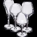 Flûte à champagne en kwarx 20cl-OPEN UP