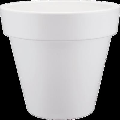 Cache-pot Elho blanc en plastique H89xD100cm-PURE