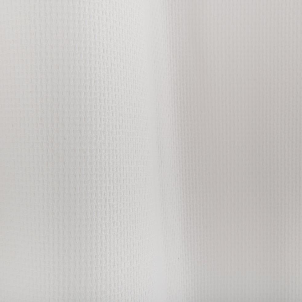Rideau nid d'abeille blanc 140x260cm-LOANO