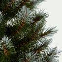 Sapin de Noël givré H90cm-CASSIEN