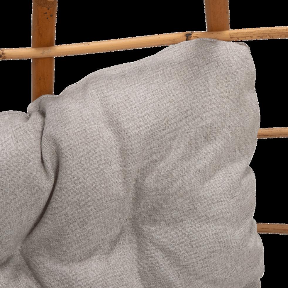 Fauteuil de jardin suspendu en rotin et coussin-PIANA
