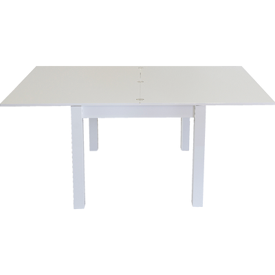Table de repas extensible blanche - 4 à 10 places-ARSENE
