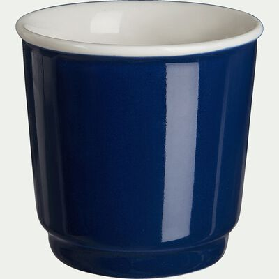 Tasses à expresso - bleu figuerolles 9cl-CAFI