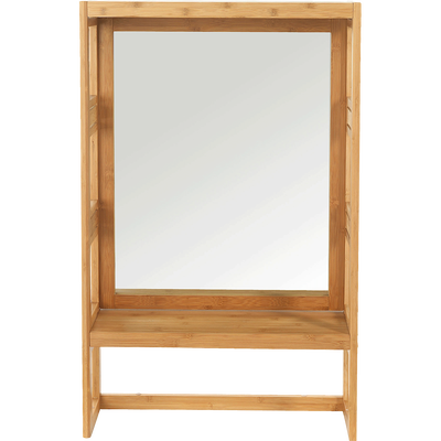 Miroirs salle de bain bois - rond, rectangulaire, ovale | alinea