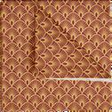 Lot de 20 serviettes en papier rouge décoré 33x33cm-PAON
