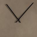 Horloge en ciment taupe D40cm-Cemento