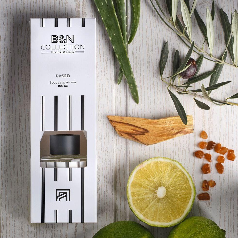 Diffuseur de parfum senteur Feuille d'Acanthe 100ml-BIANCO ET NERO