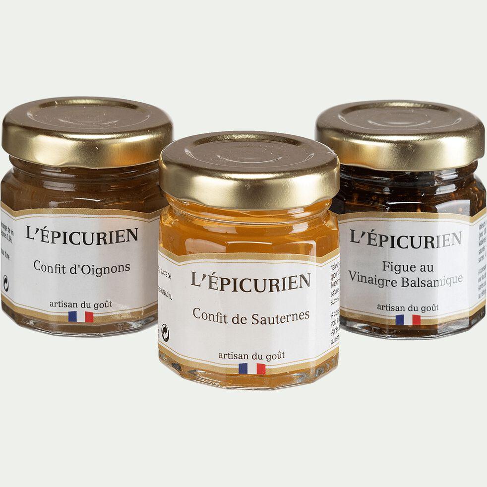 Coffret d'accompagnement foie gras-FOIE GRAS