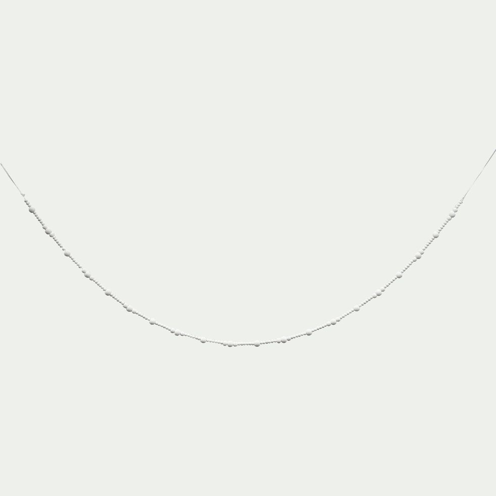 Guirlande en bois - blanc L150cm-PRAVAR