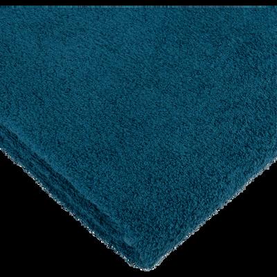 serviette d'invité 30x50 cm bleu figuerolles-ZELLIA