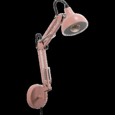 Applique en métal rose grège 36x40x12cm-XXL
