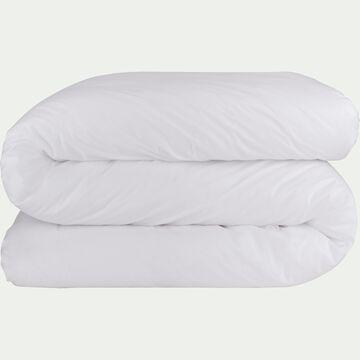 Housse de couette en coton - blanc 140x200cm-CALANQUES