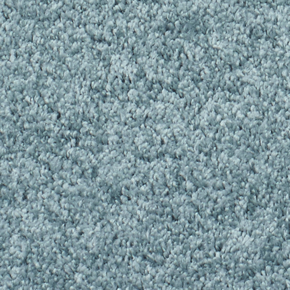 Descente de lit coloris bleu 60x110cm-Kris