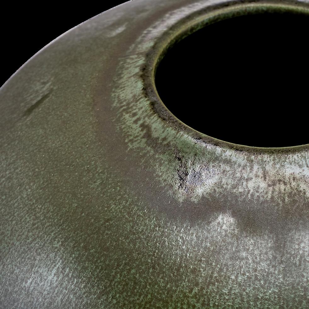 Vase en céramique vert H20cm-SAMAL