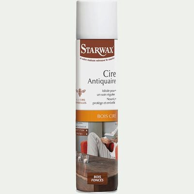 Cire antiquaire pour bois foncés 300ml-Starwax