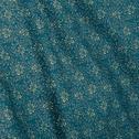 Housse de couette 240x220 en satin motif fleurs de jasmin-SOUN