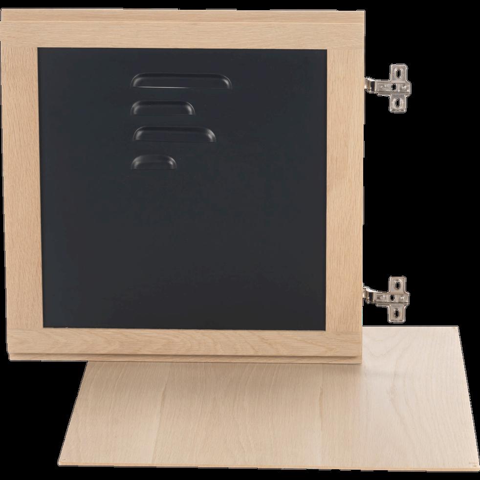 porte en acier avec fond tassia rangements composer alinea. Black Bedroom Furniture Sets. Home Design Ideas