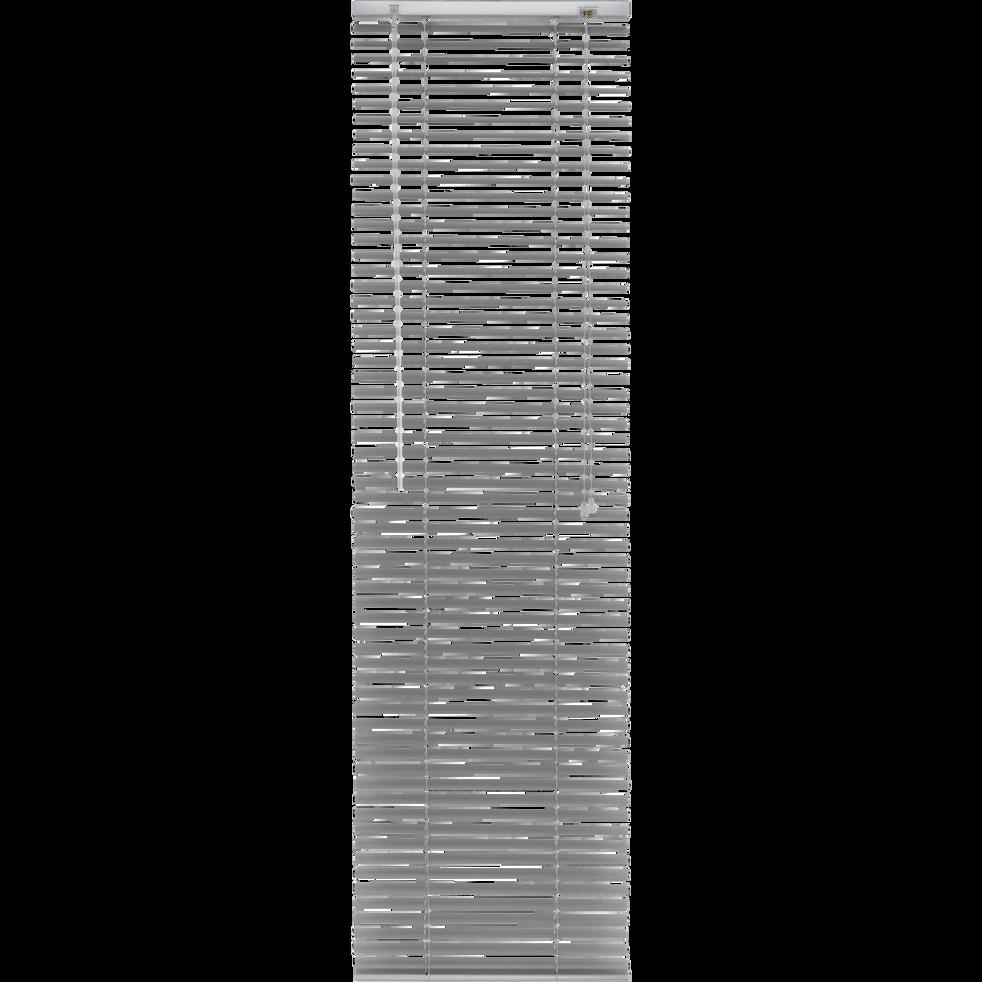 Store vénitien en aluminium gris 37x150cm-EASY VEN