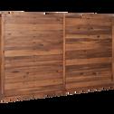 Tête de lit en acacia massif pour lit L160 cm-THAO