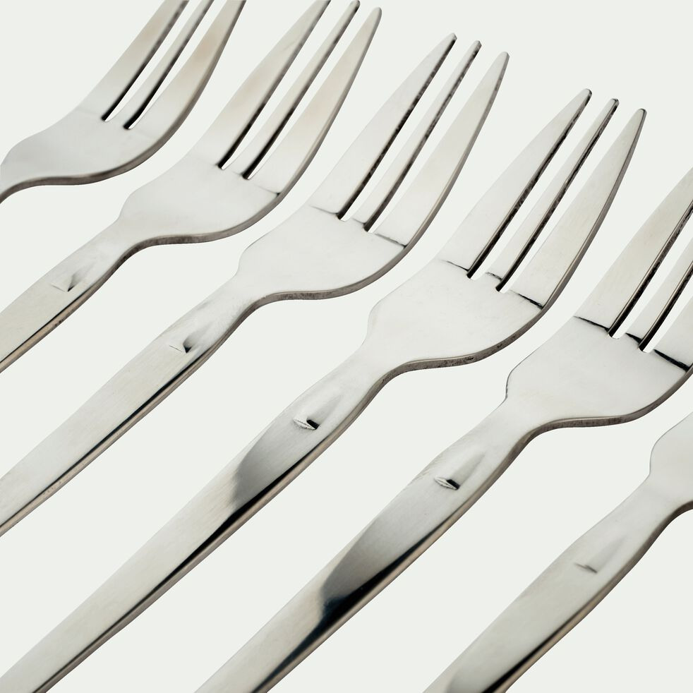 Coffret de 6 fourchettes à gâteau Laguiole-STYL UP