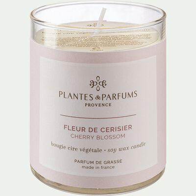 Bougie parfumée senteur Fleur de Cerisier 180g-FLEUR DE CERISIE
