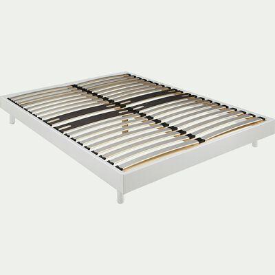 Sommier tapissier blanc Alinéa 12,5 cm en kit - 140x200 cm-DECOKIT