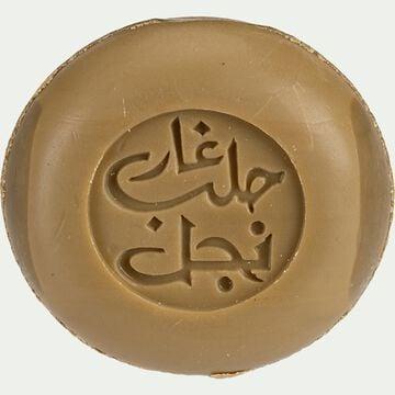 Savon d'alep à la rose de Damas rond - 100g-Wael