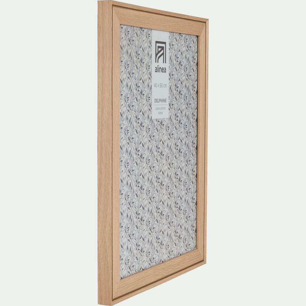 Cadre photo en hêtre 40x50 cm-DELPHINE