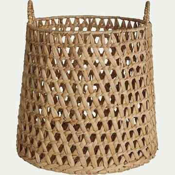 Panier en jacinthe d'eau - H30xD34cm-NOAH