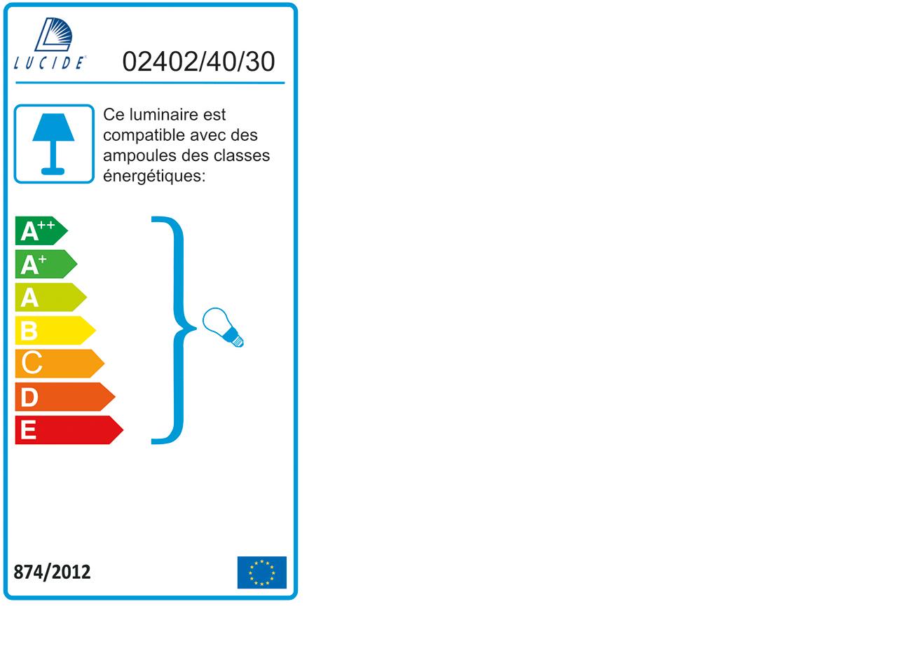 Suspension en métal filaire noir D39,5cm-VINTI