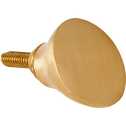 Patère en laiton doré L4,5xl3xH4 cm-HEM
