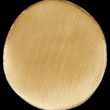 Patère en laiton doré L5xl3,5xH4,5 cm-HEM