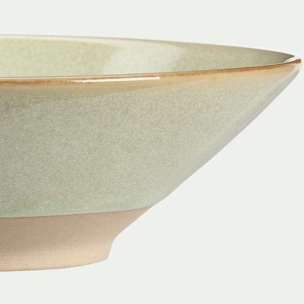 Coupelle en grès vert D13cm-ESQUIROU