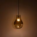 Suspension en verre marron-ALICIA