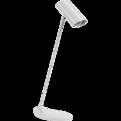 Lampe en métal blanc H53cm-HESTER