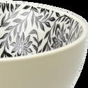 Coupelle en porcelaine beige roucas motifs jasmin D11cm-AIX