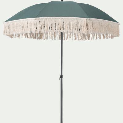 Parasol à franges vert D160cm-RICCIA