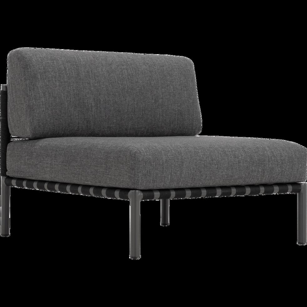 Fauteuil de jardin en aluminium gris anthracite alex fauteuils de jardin alinea - Alinea fauteuil jardin ...