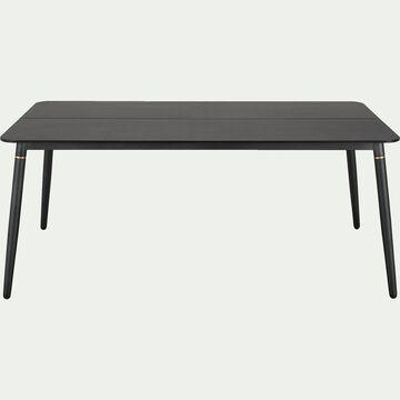 Table de repas fixe - noir - 4 à 8 places-NASITI