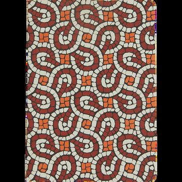 Carnet A6 à motifs-MOZAIQUE