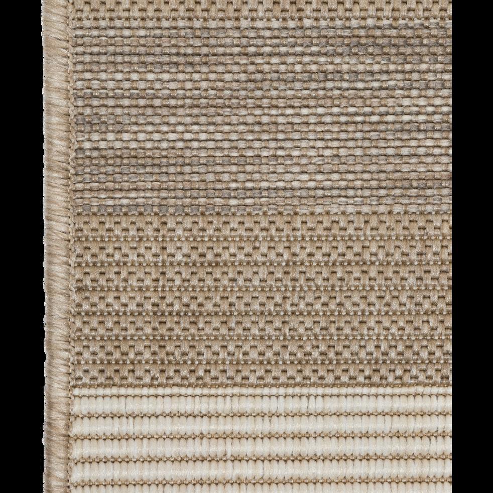 tapis ext rieur et int rieur beige 60x110cm elegance 60x110 cm descentes de lit alinea. Black Bedroom Furniture Sets. Home Design Ideas