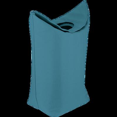 Panier de rangement pliable bleu-GWEN