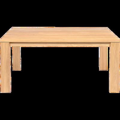 Table de repas en chêne massif - 6 à 8 places-EMOTION